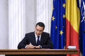 Victor Ponta fost Prim Ministru